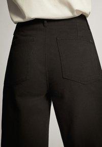 Massimo Dutti - Pantaloni - black - 3