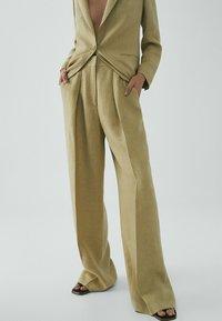 Massimo Dutti - Pantaloni - beige - 0
