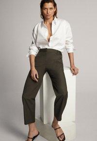 Massimo Dutti - Trousers - green - 1