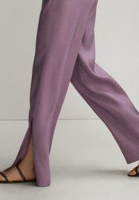 Massimo Dutti - Trousers - mauve - 5