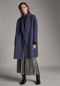 Massimo Dutti - Pleated skirt - silver - 3