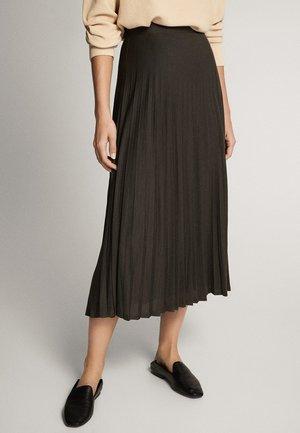 Spódnica plisowana - dark grey