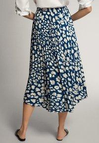 Massimo Dutti - A-line skirt - blue-black denim - 2