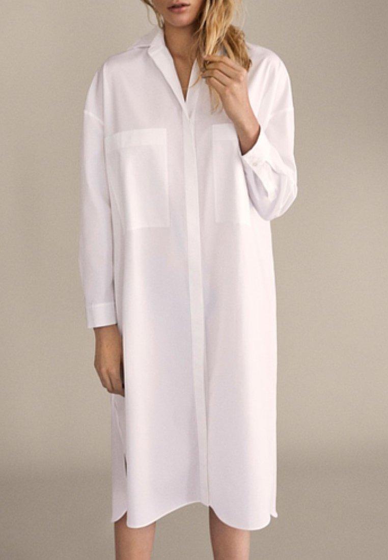 Massimo Dutti Abito a camicia - bianco white