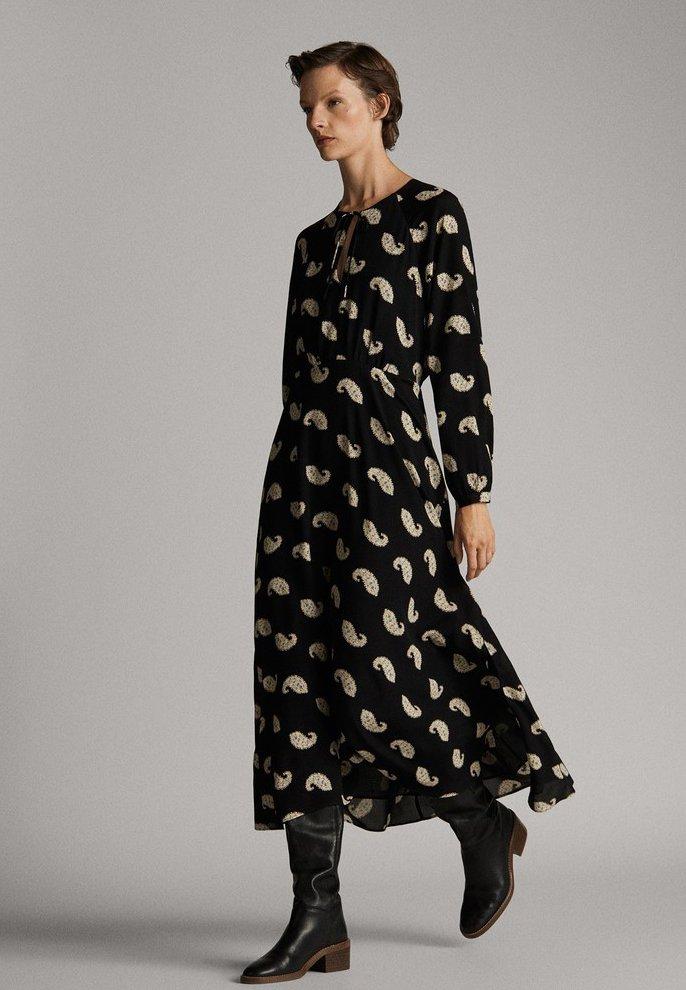 Massimo Dutti - Day dress - grey