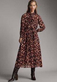 Massimo Dutti - Maxi dress - rose - 0