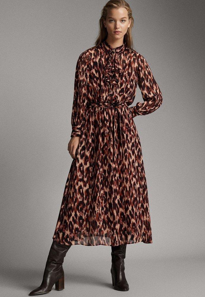 Massimo Dutti - Maxi dress - rose