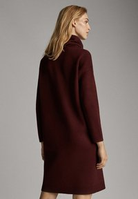 Massimo Dutti - Jumper dress - bordeaux - 2
