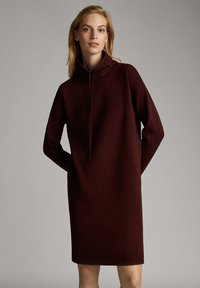 Massimo Dutti - Jumper dress - bordeaux - 0