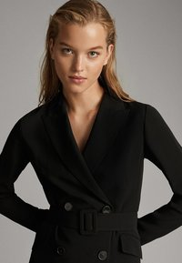Massimo Dutti - Shirt dress - black - 4