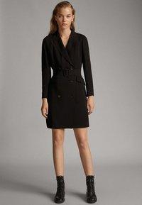 Massimo Dutti - Shirt dress - black - 1