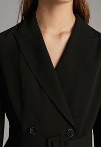 Massimo Dutti - Shirt dress - black - 3