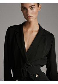 Massimo Dutti - Sukienka letnia - black - 3