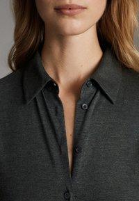Massimo Dutti - Sukienka koszulowa - dark grey - 6