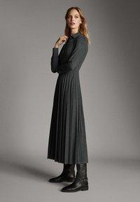 Massimo Dutti - Sukienka koszulowa - dark grey - 1