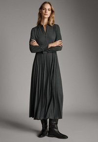 Massimo Dutti - Sukienka koszulowa - dark grey - 0