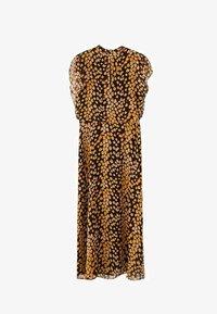 Massimo Dutti - MIT FLECKEN-PRINT - Sukienka letnia - yellow - 6