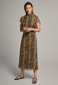 Massimo Dutti - MIT FLECKEN-PRINT - Sukienka letnia - yellow - 0