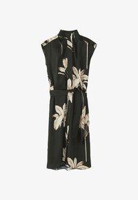 Massimo Dutti - MIT PALMENPRINT  - Skjortklänning - black - 6