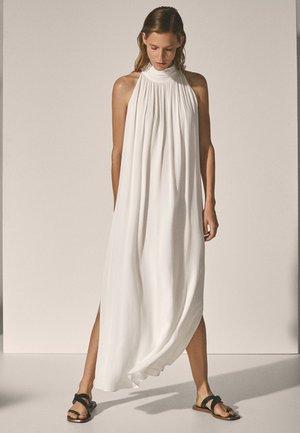 Długa sukienka - white