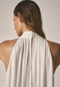Massimo Dutti - Maxi dress - white