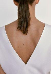 Massimo Dutti - Jersey dress - white - 5