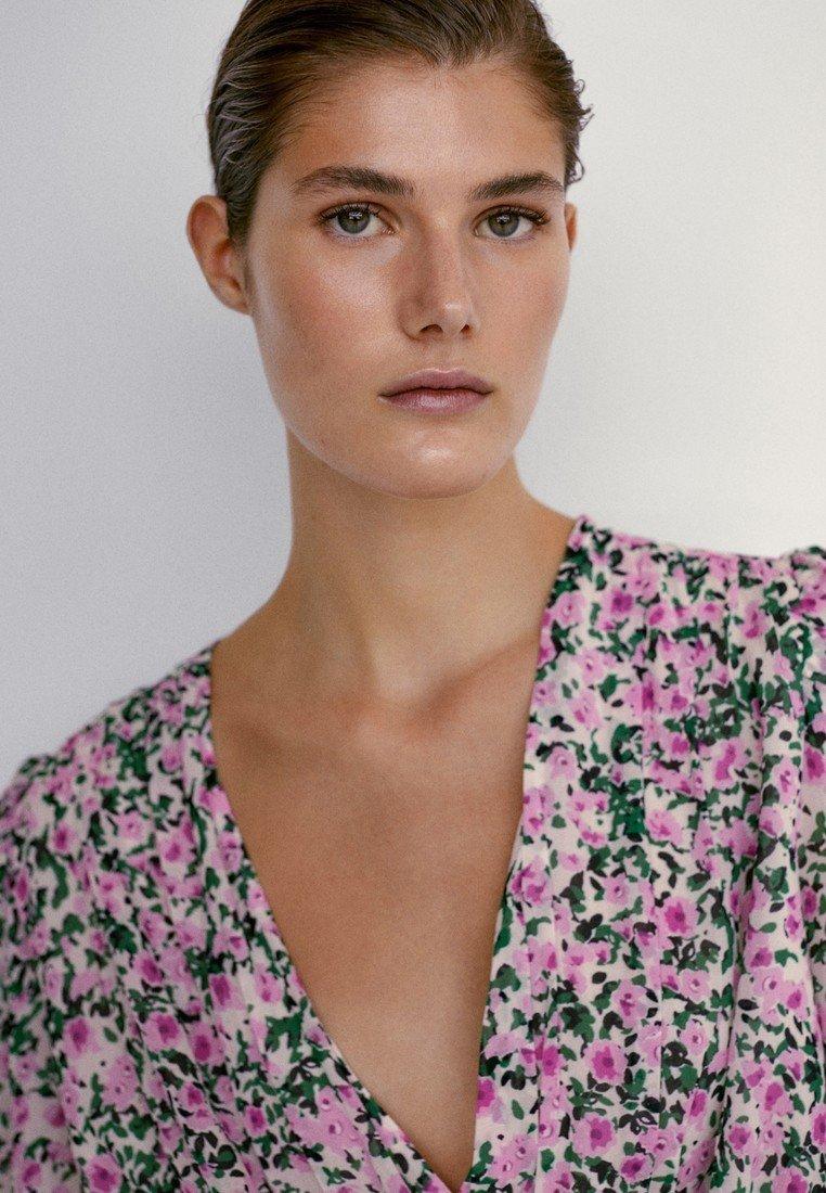 Massimo Dutti Vestito estivo - neon pink HofUZF vendita online
