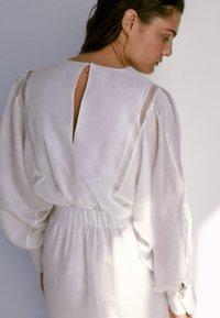 Massimo Dutti - Korte jurk - white - 1