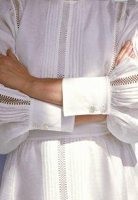 Massimo Dutti - Korte jurk - white - 4