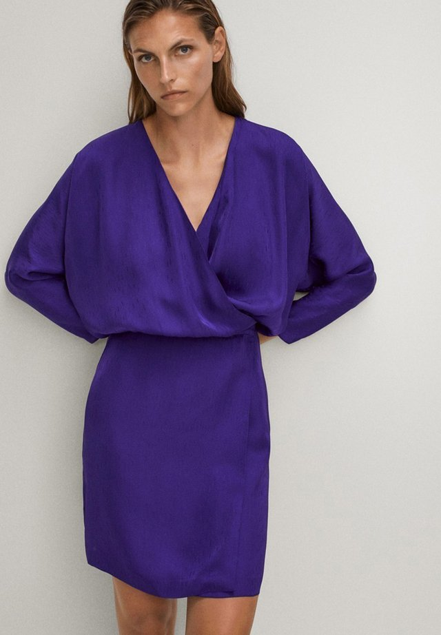 Sukienka letnia - dark purple