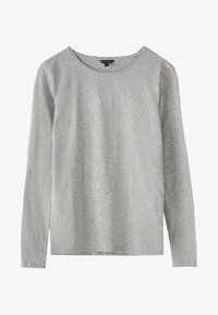 Massimo Dutti - BASIC - Long sleeved top - grey - 5