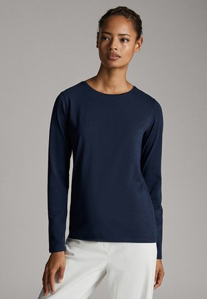 BASIC - Longsleeve - dark blue
