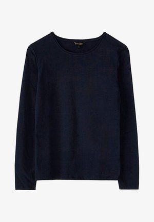 BASIC - Bluzka z długim rękawem - dark blue