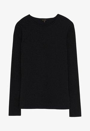 BASIC - Maglietta a manica lunga - black