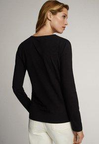 Massimo Dutti - Long sleeved top - black - 1