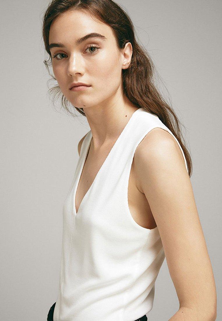 Massimo Dutti - Top - white