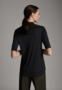 Massimo Dutti - STRAIGHT FIT - T-shirt - bas - dark grey