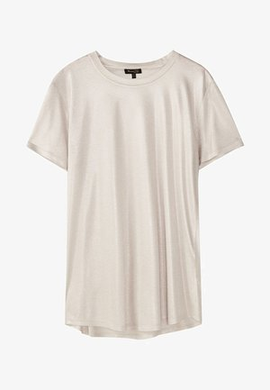 LAMINIERTES T-SHIRT 06800502 - T-shirt basic - silver