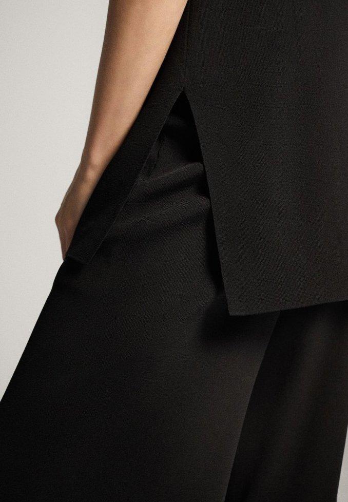 Massimo Dutti Top - Black qlMq59L