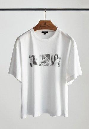 MIT JANE BIRKIN-FOTO - T-shirt print - white