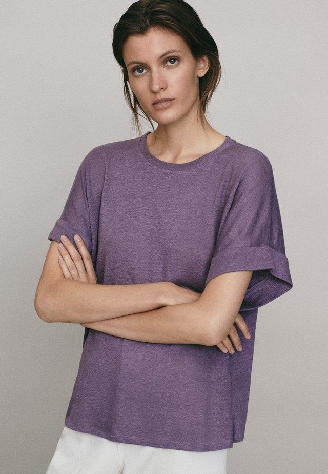 UMSCHLAG  - T-shirt basic - dark purple