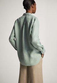 Massimo Dutti - Overhemdblouse - turquoise - 2