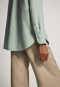 Massimo Dutti - Overhemdblouse - turquoise - 5