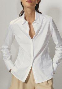 Massimo Dutti - Skjortebluser - white - 0