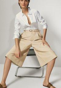 Massimo Dutti - Skjortebluser - white - 3