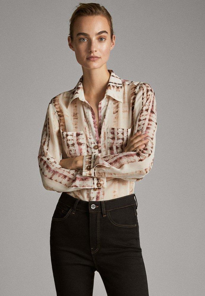Massimo Dutti - Skjortebluser - rose