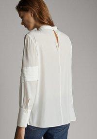 Massimo Dutti - Blus - white - 1