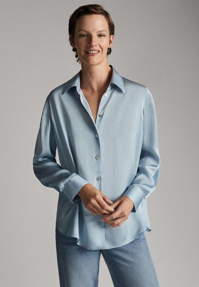 Massimo Dutti - Hemdbluse - blue
