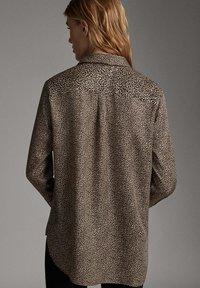 Massimo Dutti - Overhemdblouse - brown - 1
