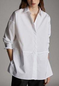 Massimo Dutti - POPELINHEMD 05110790 - Camicia - white - 3